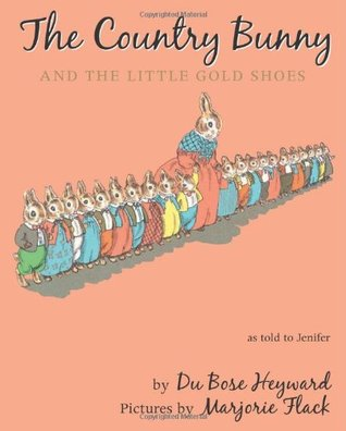 The Country Bunny and the Little Gold Shoes Gift Edition with Charm by DuBose Heyward, Marjorie Flack