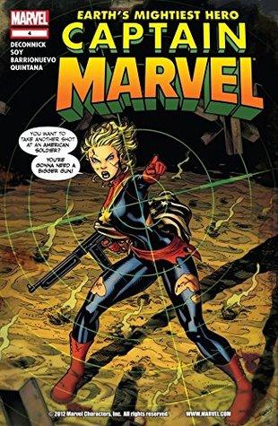 Captain Marvel (2012-2013) #4 by Dexter Soy, Kelly Sue DeConnick, Joe Caramagna