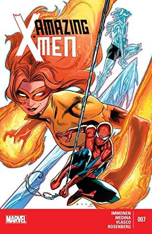 Amazing X-Men #7 by Kathryn Immonen, Juan Vlasco, Rachelle Rosenberg, Kurtis J. Wiebe, Paco Medina, Juan Doe, Kris Anka, Monty Nero, Salvador Larroca