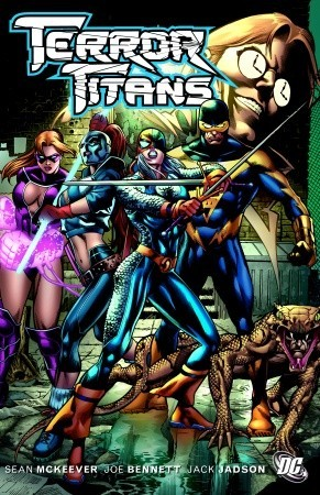 Terror Titans by Jack Jadson, Sean McKeever, Joe Bennett