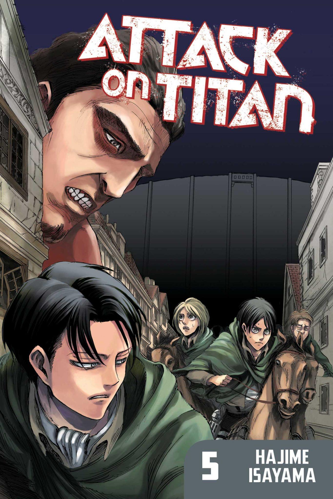 Attack on Titan, Volume 5 by Hajime Isayama