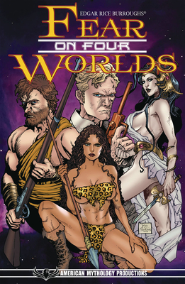 Edgar Rice Burroughs Fear on Four Worlds Crossover Collection Tpb by Mike Wolfer, Christopher Mills