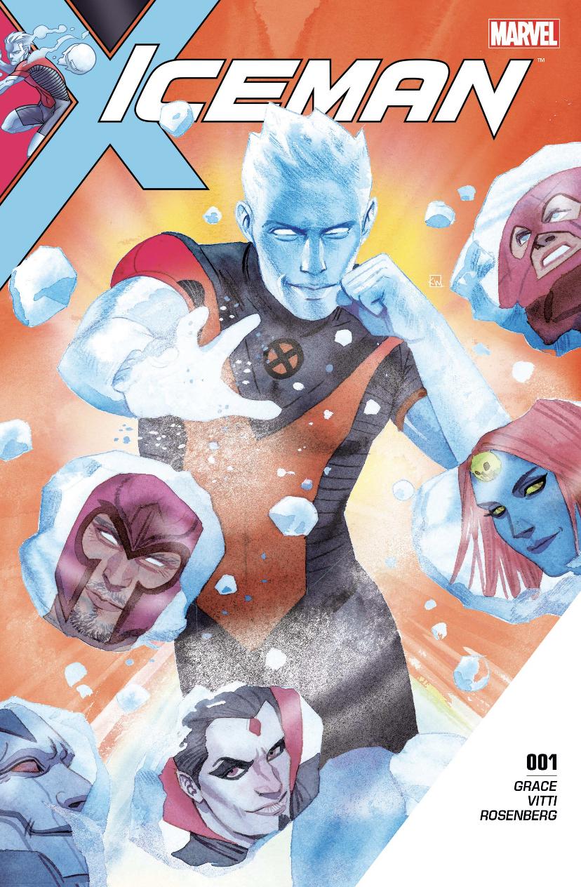 Iceman #1 by Sina Grace