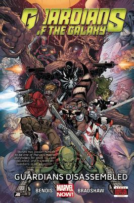Guardians of the Galaxy, Volume 3: Guardians Disassembled by Nick Bradshaw, Jason Masters, Brian Michael Bendis, Michael Avon Oeming, Cameron Stewart, Todd Nauck, Frank Cho