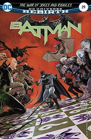 Batman #29 by Tom King, Mikel Janín, Hugo Petrus, June Chung