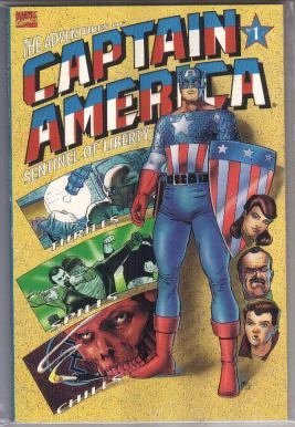 The Adventures of Captain America Sentinel of Liberty, Book One: First Flight of the Eagle by Kevin Maguire, Fabian Nicieza, Joe Rubinstein