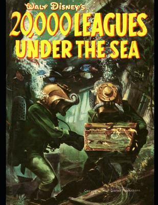 20,000 Leagues Ubder The Sea: The Evergreen Classic Story (Annotated) By Jules Verne. by Jules Verne