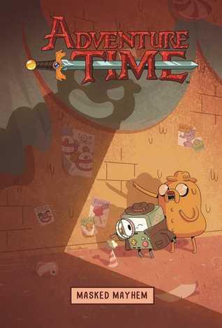 Adventure Time: Masked Mayhem by Bridget Underwood, Pendleton Ward, Kate Leth