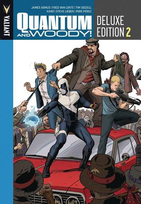 Quantum and Woody Deluxe Edition Book 2 by Tim Siedell, James Asmus, Fred Van Lente