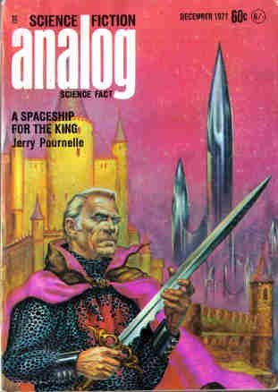 Analog Science Fiction and Fact, 1971 December by Jack Wodhams, Kelly Freas, Jerry Pournelle, Wade Curtis, Ben Bova, William Rupp, John W. Campbell Jr., Vernor Vinge, Chris Butler