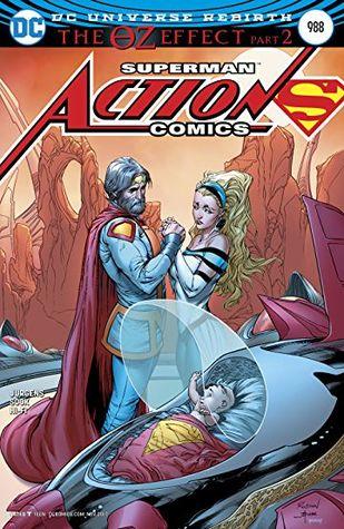 Action Comics #988 by Nick Bradshaw, Daniel Henriques, Ryan Sook, Dan Jurgens, Jason Wright, Robson Rocha, Brad Anderson