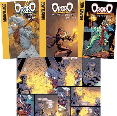 Ororo: Before the Storm (Set) by Marc Sumerak