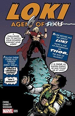 Loki: Agent of Asgard #9 by Al Ewing, Lee Garbett