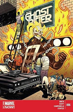 All-New Ghost Rider #6 by Tradd Moore, Damion Scott, Felipe Smith