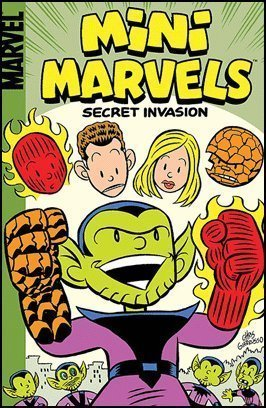 Mini-Marvels: Secret Invasion Digest by Audrey Loeb, Sean McKeever, Paul Tobin, Chris Giarrusso