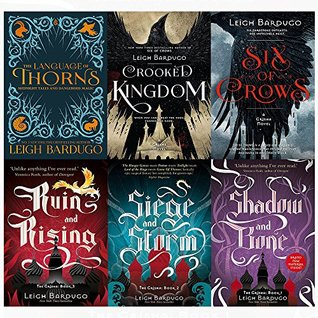 Grisha and Six of Crows Series 6 Books Collection Set by Leigh Bardugo