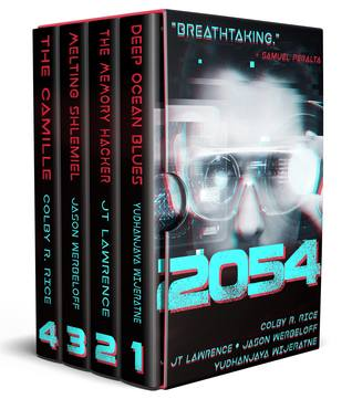 2054 by J.T. Lawrence, Yudhanjaya Wijeratne, Samuel Peralta, Colby R. Rice, Jason Werbeloff