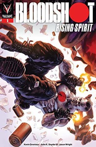 Bloodshot Rising Spirit #5 by Felipe Massafera, Kevin Grevioux, Harvey Tolibao