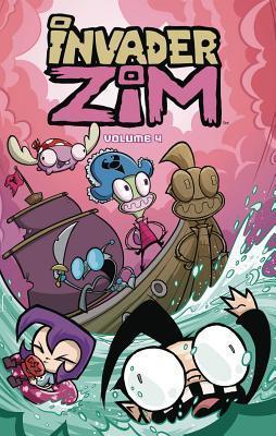 Invader Zim Vol. 4 by Aaron Alexovich, Danielle Koenig, Jhonen Vásquez, Warren Wucinich, Eric Trueheart
