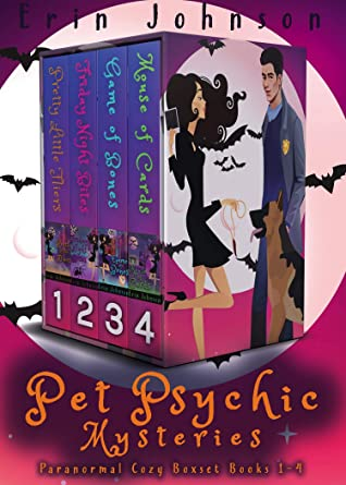 Pet Psychic Mysteries: Paranormal Cozy Boxset Books 1-4 by Erin Johnson