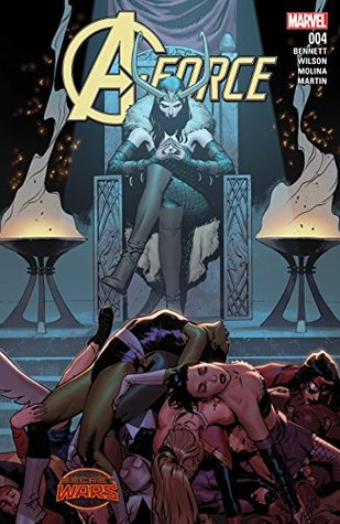 A-Force (2015) #4 by Marguerite Bennett, Jorge Molina, G. Willow Wilson