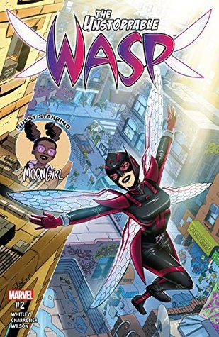The Unstoppable Wasp #2 by Jeremy Whitley, Elsa Charretier, Tony Fleecs