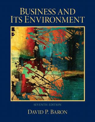 Business and Its Environment by David Baron