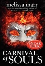 Carnival of Souls Sneak Peek by Melissa Marr