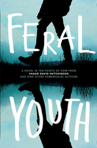 Feral Youth by Shaun David Hutchinson, E.C. Myers, Robin Talley, Tim Floreen, Stephanie Kuehn, Marieke Nijkamp, Justina Ireland, Brandy Colbert, Suzanne Young, Alaya Dawn Johnson