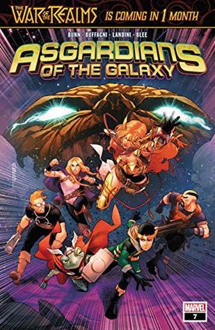 Asgardians of the Galaxy (2018-) #7 by Jamal Campbell, Cullen Bunn, Matteo Buffagni