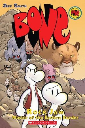 Bone, Vol. 5: Rock Jaw Master of the Eastern Border by Jeff Smith, Steve Hamaker