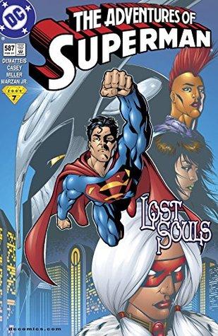 Adventures of Superman (1986-2006) #587 by José Marzán Jr., Comicraft, Tanya Horie, Joe Casey, J.M. DeMatteis, Mike S. Miller, Glenn Whitmore