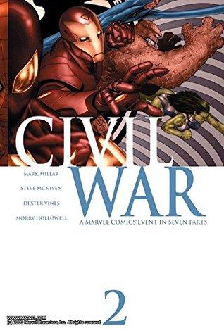 Civil War #2 by Steve McNiven, Mark Millar