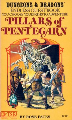 Pillars of Pentegarn by Harry J. Quinn, Rose Estes, Larry Elmore