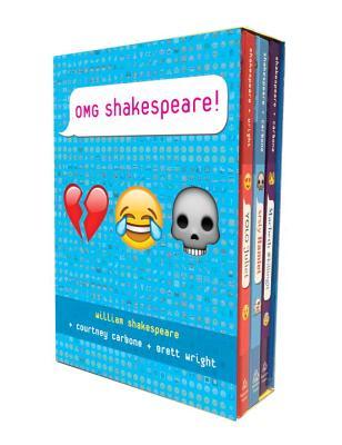 Omg Shakespeare Boxed Set: Yolo Juliet; Srsly Hamlet; Macbeth #killing It by Brett Wright, Courtney Carbone, William Shakespeare