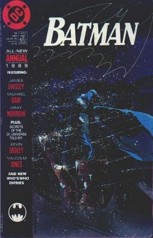 Batman Annual #13 by Dennis O'Neil, Malcolm Jones III, Daniel Raspler, Adrienne Roy, Greg Boone, Kevin Dooley, Albert DeGuzman, Dom Carola