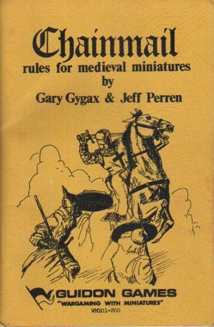 Chainmail: Rules for Medieval Miniatures by Jeff Peren, Gary Gygax
