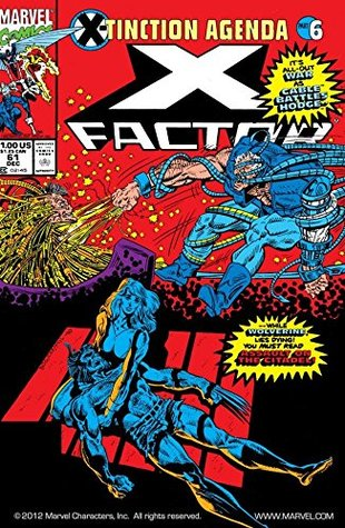 X-Factor (1986-1998) #61 by Mike Rockwitz, Joe Rosen, Jon Bogdanove, Al Milgrom, John Caponigro, Louise Simonson