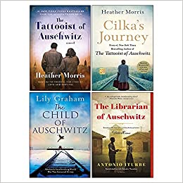 Cilka's Journey, The Tattooist of Auschwitz, The Librarian of Auschwitz, The Child of Auschwitz 4 Books Collection Set by Antonio Iturbe, Heather Morris, Lily Graham