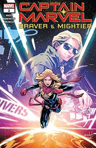 Captain Marvel: Braver & Mightier (2019) #1 by Simone Buonfantino, Jody Houser, Valerio Schiti