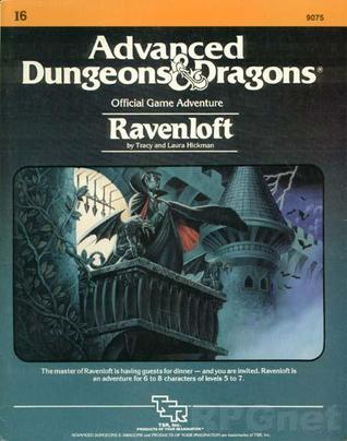 Ravenloft by Tracy Hickman, Laura Hickman