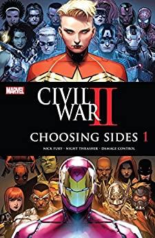 Civil War II: Choosing Sides #1 by Chad Bowers, Declan Shalvey, Chris Sims, Brandon Easton