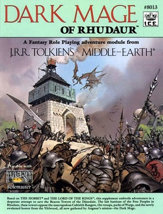 Dark Mage of Rhudaur by Jessica Ney, Elizabeth Danforth, Jeffrey McKeage, Angus McBride