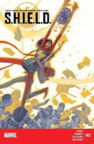 S.H.I.E.L.D. #2 by Edgar Delgado, Mark Waid, Voctor Olazaba, Julian Tedesco, Humberto Ramos