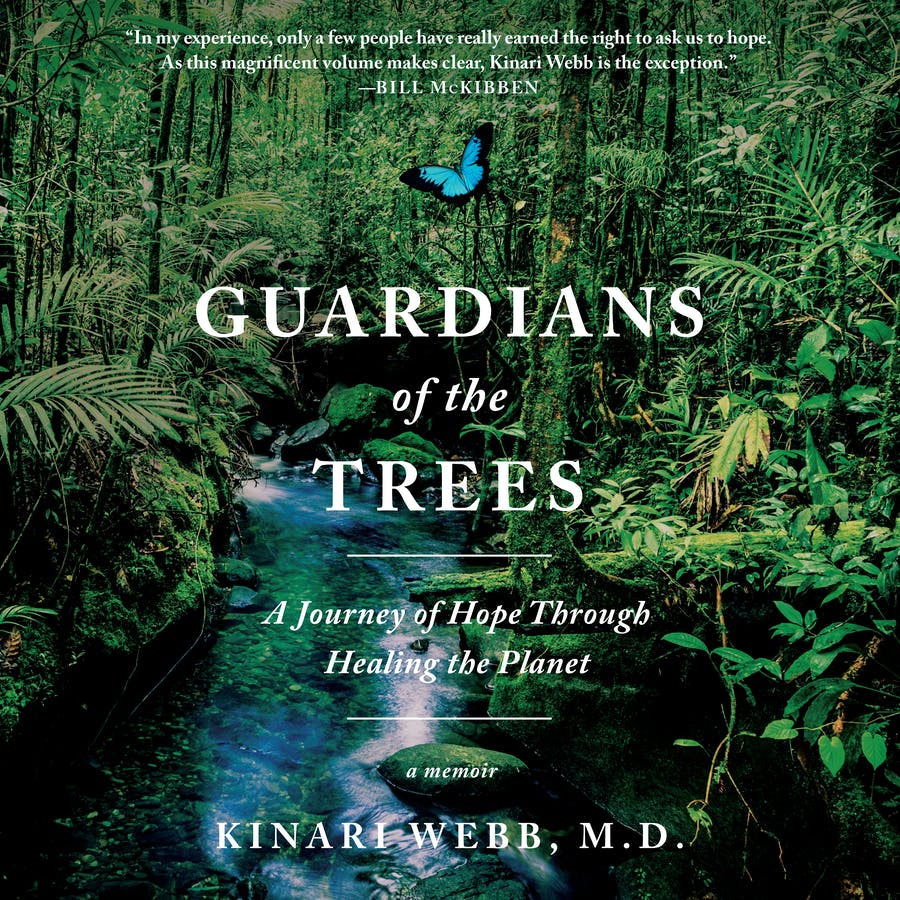 Guardians of the Trees: A Journey of Hope Through Healing the Planet by Kinari Webb