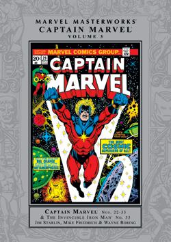 Marvel Masterworks: Captain Marvel, Vol. 3 by Gerry Conway, Steve Englehart, Marv Wolfman, Jim Starlin, Wayne Boring, Mike Friedrich