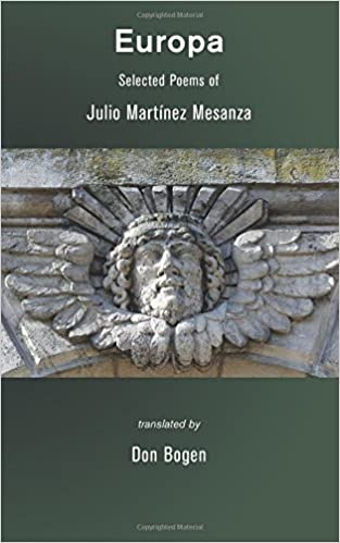 Europa: Selected Poems by Julio Martínez Mesanza