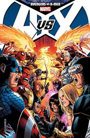 Avengers vs. X-Men by Olivier Coipel, Adam Kubert, Brian Michael Bendis, Ed Brubaker, Jason Aaron, Jeph Loeb, Jonathan Hickman, Ed McGuinness, Frank Cho, Matt Fraction, John Romita Jr.