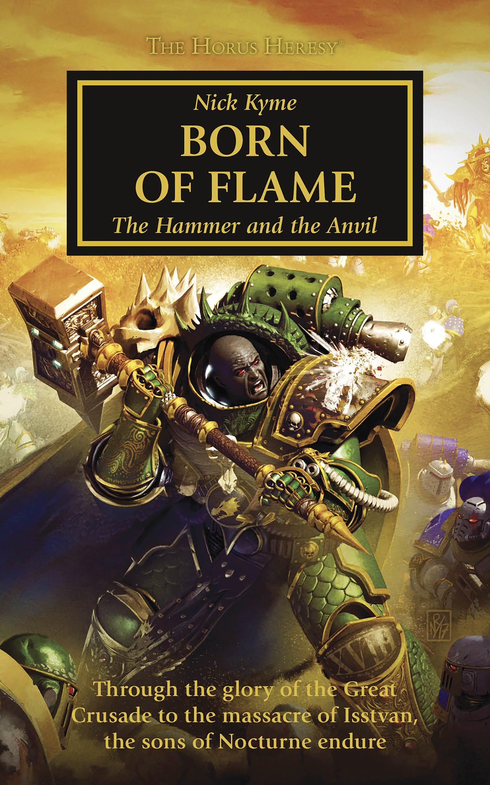 Born of Flame by Nick Kyme