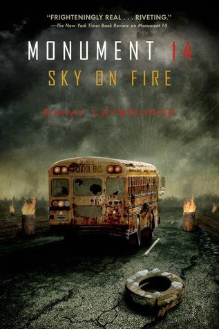 Sky on Fire by Emmy Laybourne